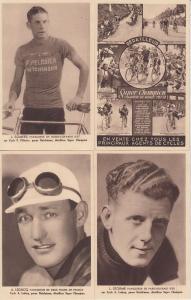 TOUR DE FRANCE CYCLING CYCLISME BICYCLE VELO RACING SPORT 27 CPA (1937-1938)