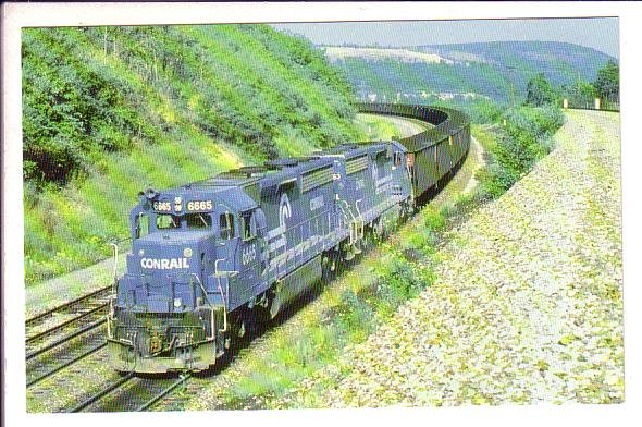 Conrail, Tunnelhill, Pennsylvania, Train