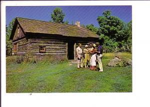 Wentworth Heritage Village, Rockton, Ontario, Log House