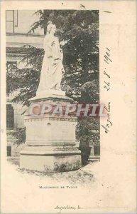 Postcard Old Angouleme Marguerite de Valois