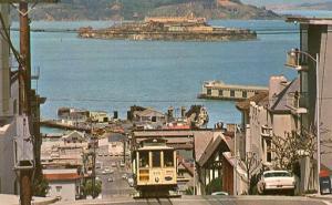 CA - San Francisco. Cable Car, Street Scene