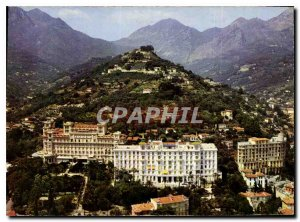 Modern Postcard The wonderful sites of the French Riviera Menton M Hill of th...