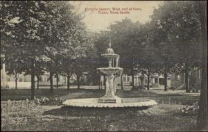 Truro NS Nova Scotia Victoria Square Fountain c1910 Postcard