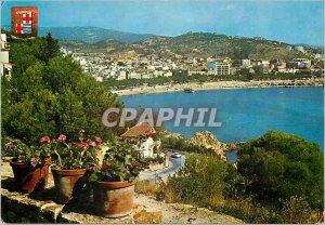 Postcard Modern Acqui Terme Albergo Regina di Tennis Caerpi