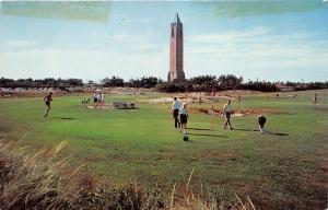 Jones Beach Long Island New York~Pitch-Putt Golf Course~1950s Postcard