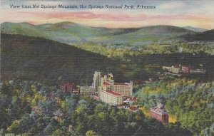 Arkansas Hot Springs National Park View From Hot Springs Mountain