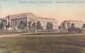 Washington Seattle Philosophy Commerce Home Economics University Of Washingto...