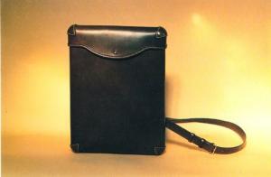 Neil Macgregor Shoulder Bag Leather Hand Sewing Making Craft Photo Postcard