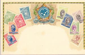 Stamps of Brazil - Embossed