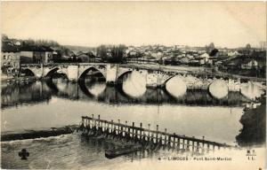 CPA LIMOGES - Pont St-Martial (390687)