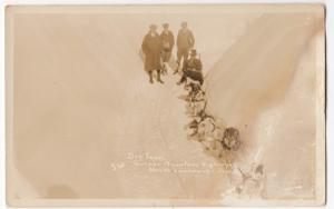 Canada; North Vancouver, BC, Dog Team On Grouse Mountain Highway RP PPC, Unused