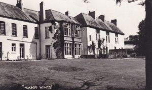 Knapp House Hotel Tiverton Devon Real Photo Postcard