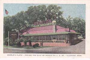 GULFPORT , Mississippi , 1930-40s; Angelo's Place