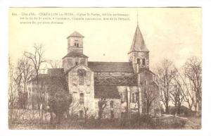 Cote d'Or, CHATILLON sur-SEINE, Eglise St Vorles, France,00-10s