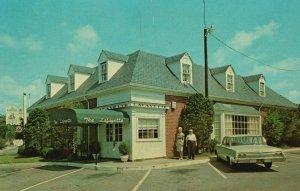 Vintage Postcard The Lafayette Charcoal Steak & Seafood House Williamsburg VA