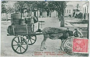 02402 ETHNIC vintage postcard: PORTUGAL - AZORES Açores