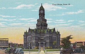 PARIS, Illinois, 1930-1940's; Court House