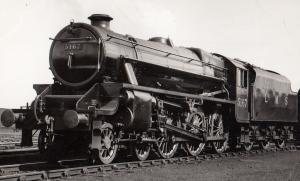 LMS 5167 45167 William Stanier Train Photo