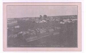 Oklahoma City Panorama 14 Days Old OK 1912c postcard