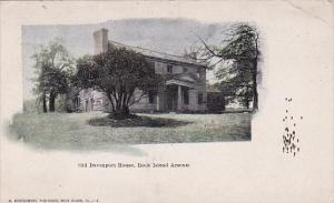 Illinoin Rock Island Old Davenport House Rock Island Arsenal