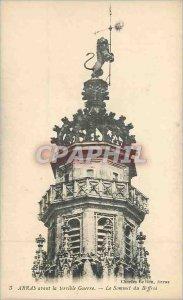 Old Postcard Arras before the Terrible War Belfry Lion Summit