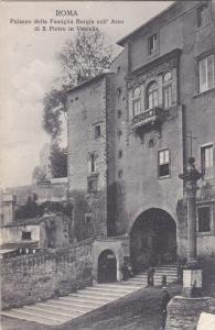 Palazzo Della Famiglia Borgia Coll'Arco Di S. Pietro In Vinculis, ROMA (Lazio...