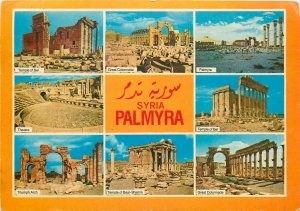 Syria Palmyra multi views postcard