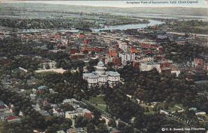 California SacramentoAeroplane View 1920
