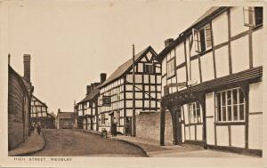 WEOBLY HEREFORDSHIRE ENGLAND~HIGH STREET~A F JENNINGS PUBLISHED PHOTO POSTCARD