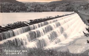 Schohorie Reservoir Gilboa NY Unused