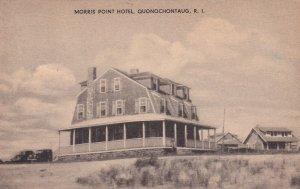 QUONOCHONTAUG , Rhode Island, 1938 ; Morris Point Hotel