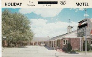 ELKO , Nevada, 1950-60s ; Holiday Motel