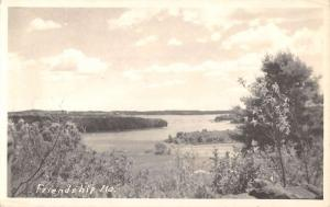 Friendship Maine Scenic View Real Photo Antique Postcard K56599
