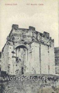 Old Moorish Castle Gibralter Unused