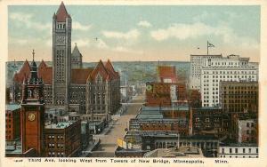 Minneapolis MN~Third Avenue~National Mfg & Supply Co~Henry George Cigar~1920s