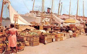 Nassau, Bahamas Virgin Islands Water Front Market Nassau, Bahamas Water Front...