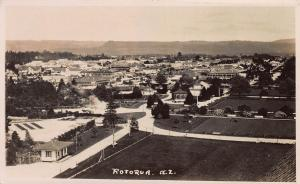 Rotorua, New Zealand, Early Real Photo Postcard, Unused