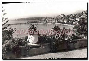 Old Postcard Menton Alpes Maritimes General view on the bottom villeet Cap Ma...