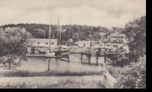 Maine Southport Harbor Albertype