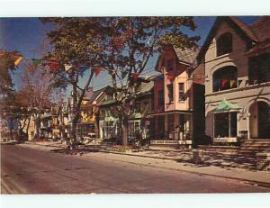 Toronto Ontario Canada Markham Street Village Shops Tea rooms  Postcard # 5794