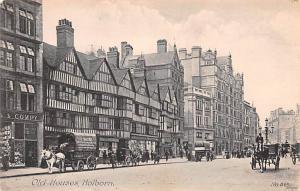 Holborn United Kingdom, Great Britain, England Old Houses, High Holborn Holbo...