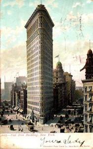 New York City Flat Iron Building 1905