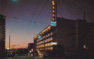 The Sands Motor Hotel , VANCOUVER , B.C. , Canada,  50-60s