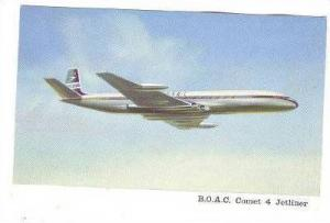 B.O.A.C. Comet 4 Jetliner Airplane , 60-70s