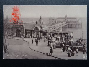 Essex SOUTHEND The Pier showing WATER CHUTE c1905 Postcard by Raphael Tuck 1584