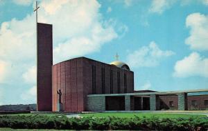 MONROE, VA Virginia HOLY TRINITY CHAPEL~Father Judge Mission Seminary  Postcard