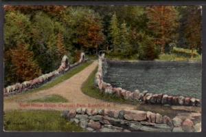Sugar House Bridge,Churchill Park,Stamford,NY Postcard