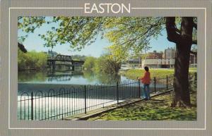 The Lehigh River Easton Northampton County Pennsylvania