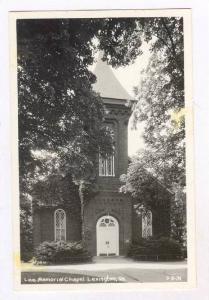 RP: Lee Memorial Chapel, Lexington, Virginia, 1930-50s