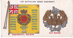 Cigarette Card Player's Regimental Standards & Cap Badges No 36